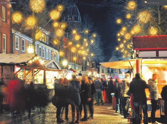 Hanseatischer Weihnachtszauber in Stade